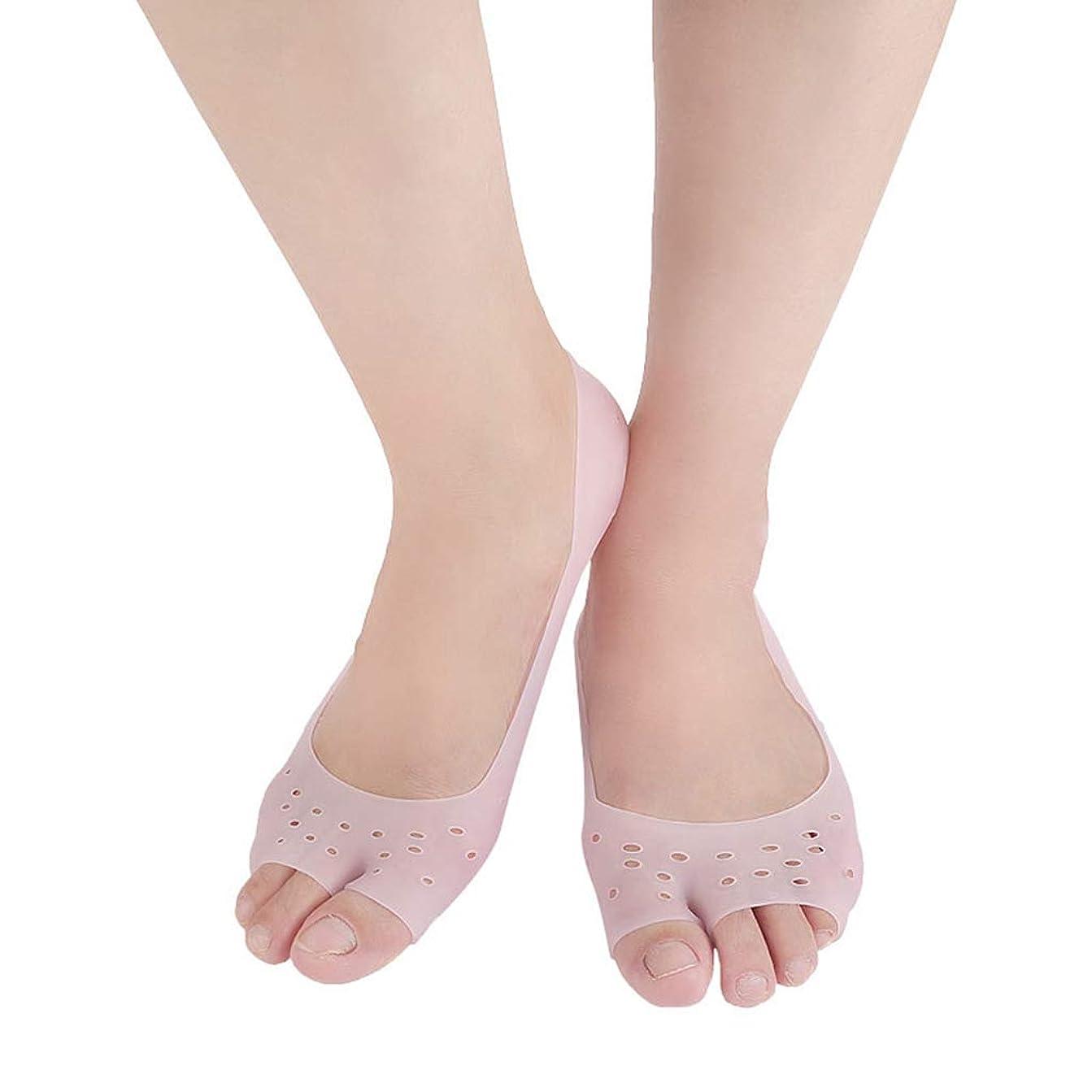 ごちそうヘビーライトニング腱板矯正足矯正靴下女性足の裏の靴下を開け、足の外反を防ぎ、痛みを和らげます腱膜炎(5対),Pink