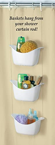 discount Hanging Bath And sale Shower Basket high quality Trio outlet sale