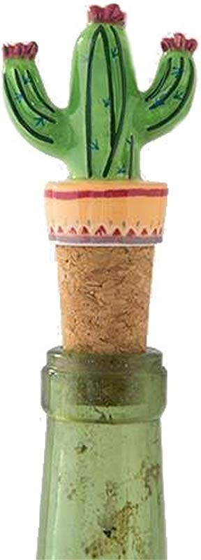 Natural Life Cactus Bottle Stopper