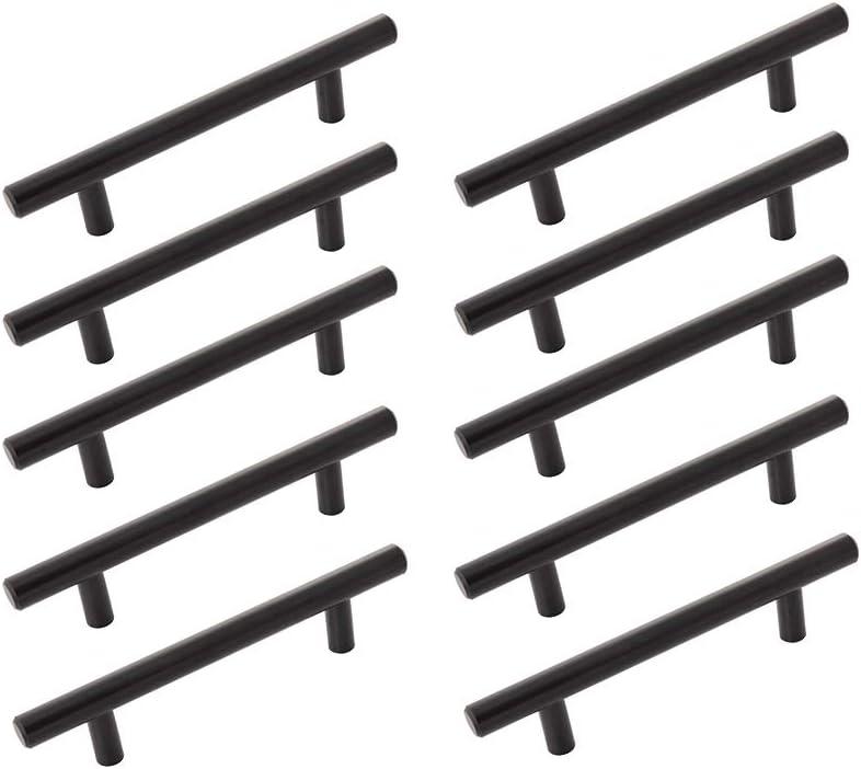 Hickory Hardware Bar Pull 96mm C 10 Max 46% OFF Matte Max 88% OFF Black