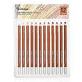 12 lápices de crayón Suaves Profesionales para Pintar lápices de Colores de crayón de Tono de Piel de Madera - Skin Tints -style2