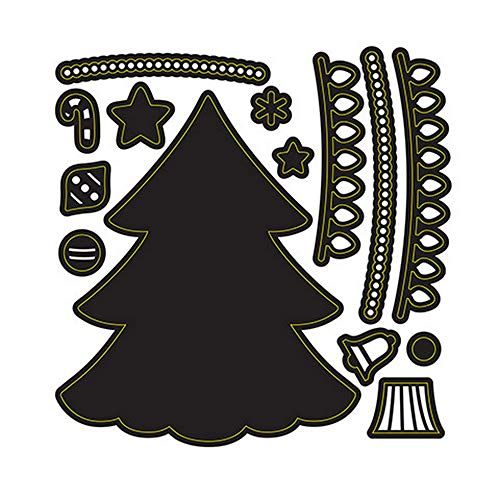 Darice Crafts Dies Build A Holiday Tree