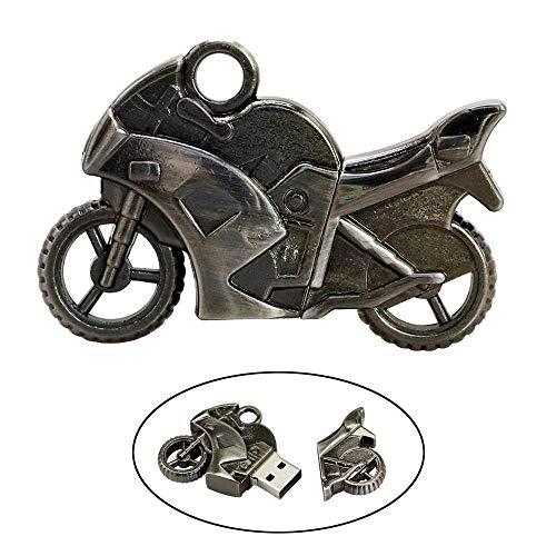 Civetman 32GB USB Flash Drive Cool Racing Moto Motocicleta Forma 32G Memory Stick U Disk