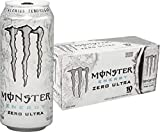 Monster Energy, Zero Ultra, 16 fl oz (pack of 10)