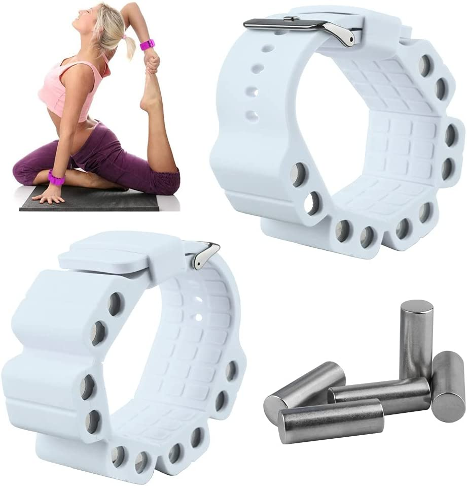 A Pair Challenge the lowest price of Japan ☆ Outdoor Indoor Sports Trust Load Running Yoga Fitness Bracelet