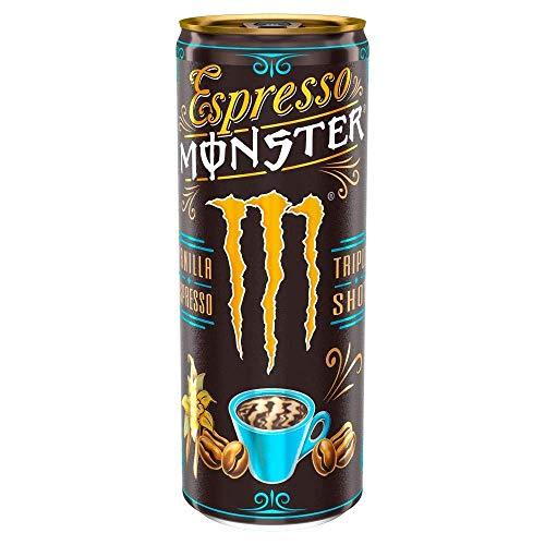 Bebida energética Espresso Monster, 12 x 250 ml, vainilla