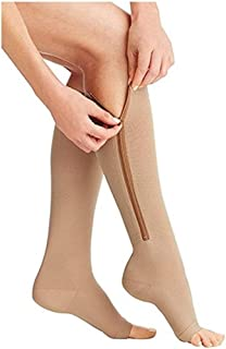 Best Zipper Socks Compression Socks (2 pairs) with Open Toe Best Support Zipper Stocking Review
