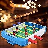 Qqmora Juguete de fútbol de Escritorio para niños, Juguete de fútbol de Mesa Duradero para niños portátil Mini Ligero, para Fiesta de Amigos