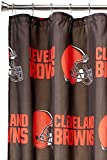 NFL Cleveland Browns Shower Curtain, 72' x 72'