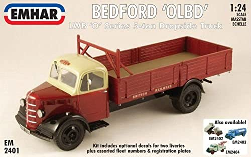 Emhar - Bedford 'O' Series Long Wheel Base Dropside Truck Flatbed - EM2401