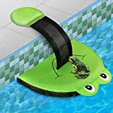 Animal Saving Escape Ramp for Swimming Pool,Easy Setup Critter Escape Device for Frogs, Bees, Birds,Chipmunk, Critter Saving Escape Ramp (Style-Frog)