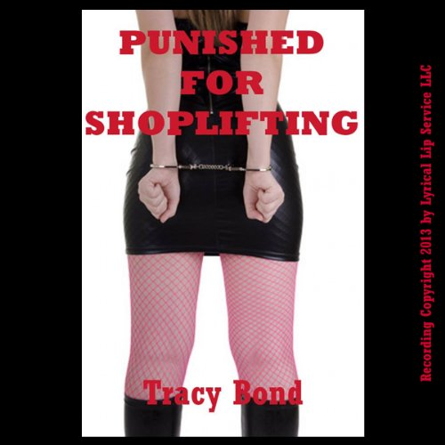 Punished for Shoplifting audiobook cover art