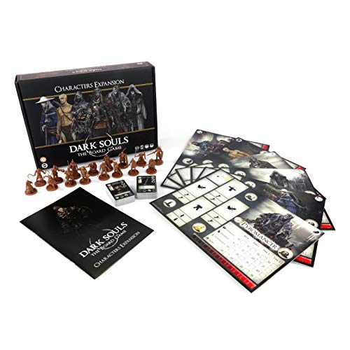 Steamforged Games SFGDS002 Dark Souls: The Board Game-Characters Expansion, Mixed Colours