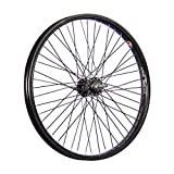Taylor-Wheels 20 Pouces BMX Roue Avant vélo Noir 48 axe traversant Noir