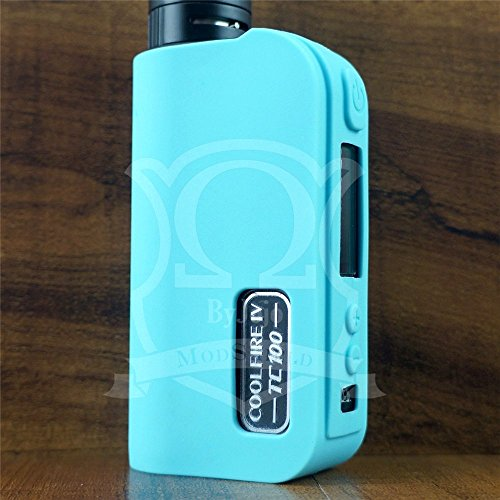 Silicone Case for Cool FIRE IV 4 100W TC ModShield ByJojo TC100W Skin Sleeve Cover Shield Wrap (Teal)