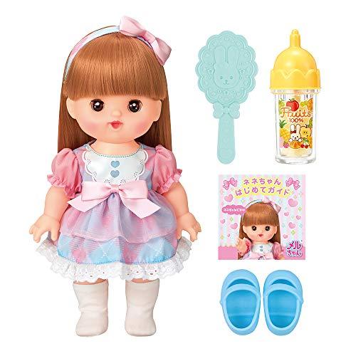 メルちゃん お人形セット おめめぱちくりロングヘアネネちゃん