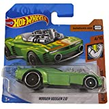 Hot Wheels Rodger Dodger 2.0 Muscle Mania 4/10 2019 (195/250) Short Card