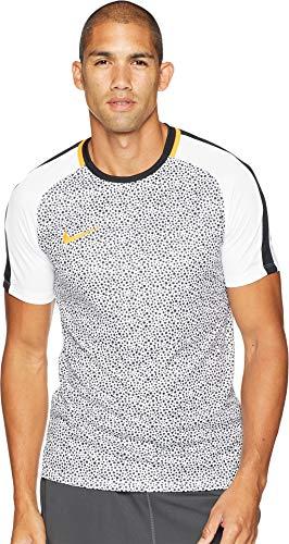 Nike Dry Academy Top SS Maillot d'entraînement pour Homme S White/Black/Orange