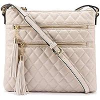 Lovebook Double Tassel Shoulder Crossbody Bags