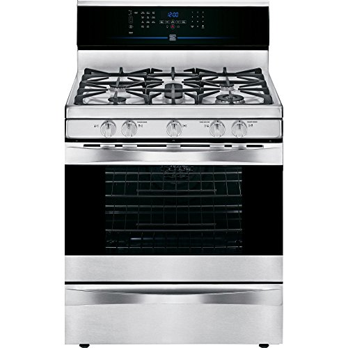 Kenmore 75123 5.8 cu. ft. Gas Range in Stainless Steel, includes delivery and hookup