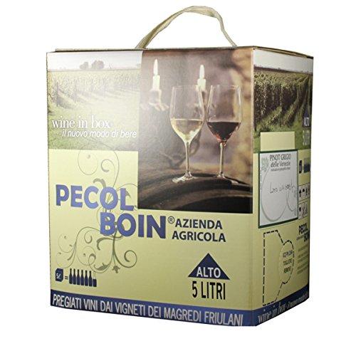 Pecol Boin (Colferai) BIB Pinot Grigio DOC Friuli 5.00 Liter