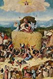"""Hieronymus Bosch Journal #7: Cool Artist Gifts - The Hay Wagon Hieronymus Bosch Notebook Journal To Write In 6x9"""" 150 Lined Pages"""