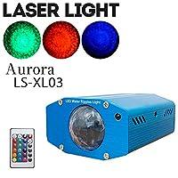 LED オーロラ エフェクト ライト リモコン付き マルチカラー 舞台 照明 LS-XL03 スポットライト ステージライト エフェクト