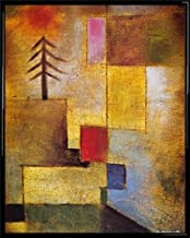 1art1 Paul Klee 1922 Gerahmtes Poster F/ür Fans Und Sammler 40 x 30 cm Roter Ballon