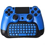 Prodico PS4 Keyboard 2.4G Wireless Chatpad for PS4 Controller Update Version