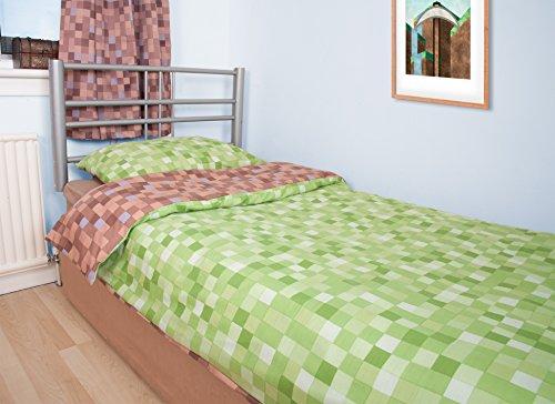 John Aird Pixel Duvet Cover With Pillow Case (Double)