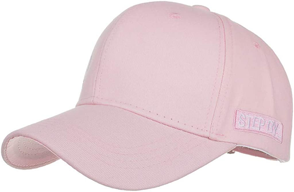Renlinwell Womens Cotton Mans Embroidered Baseball Caps Adjustable