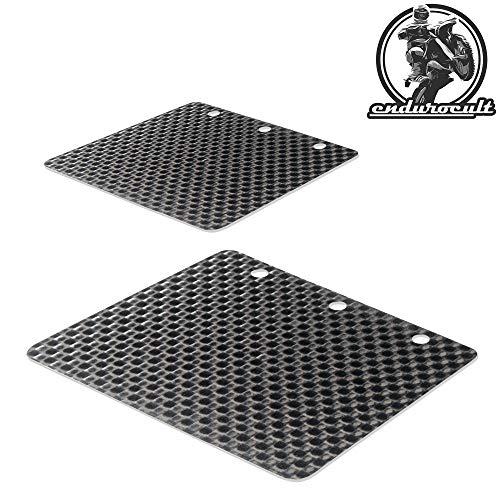 endurocult - 2x Carbon Membran kompatibel mit Gas Gas EC 200/250/300 1999-2007