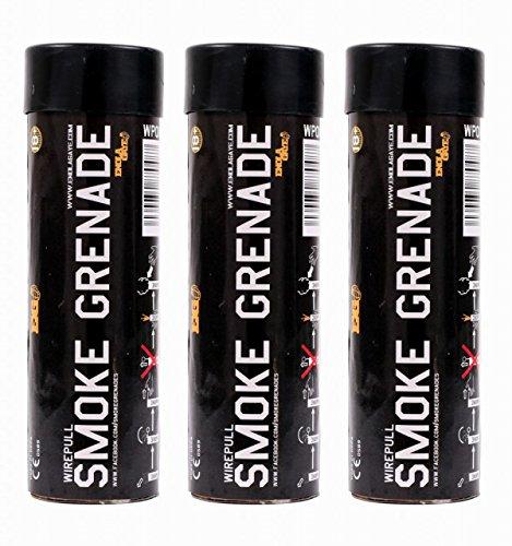 ENOLA Gaye Draht Pull Paintball Smoke Grenade 3Pack–Weiß