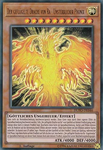 Konami - DUPO-DE046 - Der geflügelte Drache von Ra - Unsterblicher Phönix - Ultra Rare - DE - Yugioh