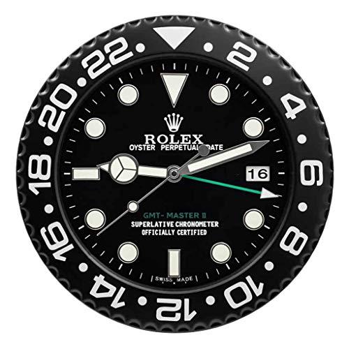 Rolex Replika Wanduhr Motiv Rolex GMT 2 Classic Black
