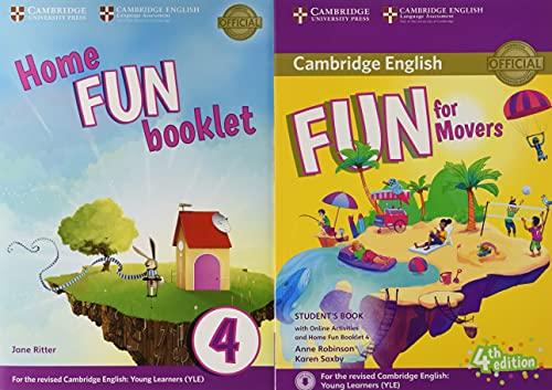 Fun for movers. Student's book. With home fun booklet 4. Per la Scuola media. Con e-book. Con espansione online