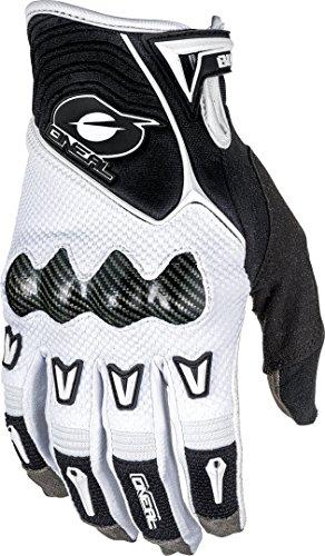 O'Neal Butch Carbon Glove Guantes para Bicicleta, Mb, Descenso, Dh y Mx, M, Blanco