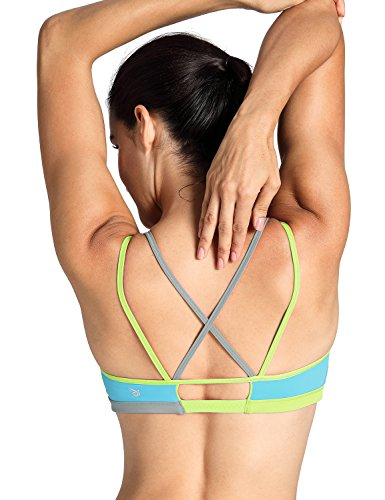 CRZ YOGA - Sujetador Deportivo Yoga Cruzados Sin Aros para Mujer 9 XL