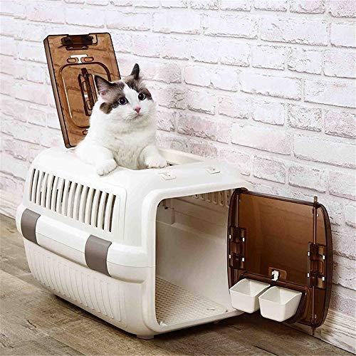 Yinglihua huisdier bed top hond huisdier reizen draagbare twee-deurs kat kooi auto gecontroleerd zakken vliegtuigen huisdier nest hond bed