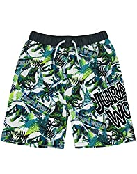 AWESOME JURASSIC WORLD SWIMMING SHORTS FOR BOYS - Our super cool Jurassic World bathing trunks for children is the best way to splash around during holiday vacations, swimming on beach and pool days whilst staying comfortable in dinosaur style! BATHI...
