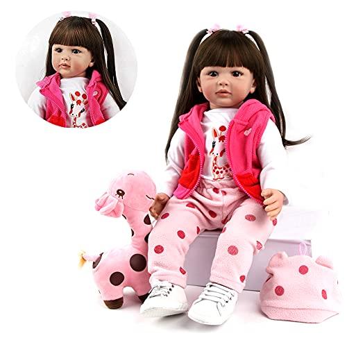 ZIYIUI Bambole Reborn Femmine 20 Pollici 50 cm Reborn Bambino Bambole in Silicone Morbido Bambola Reborn Cheap Bambola Reborn Baby Giocattolo