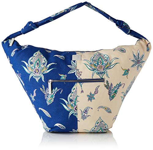 Desigual Womens Fabric Shoulder Bag, Blue, U