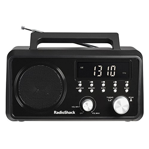RadioShack Portable Digital Tuning AM/FM/Weather Tabletop Radio