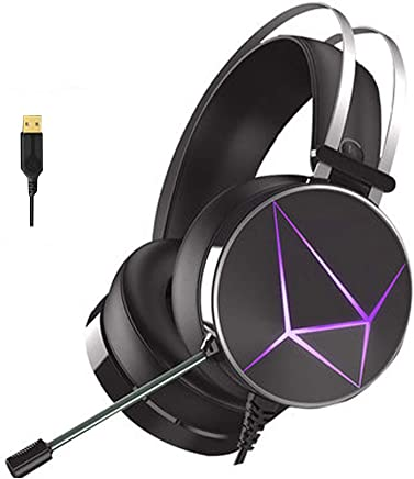 Gaming Headset per PS4 PC, 7.1 Surround Sound Stereo Noise Reduction Cuffie da Gioco Professionali USB con Microfono Compatibile con PC, Xbox One, PS4, Nintendo Switch e dispositivi mobili-Diamond - Trova i prezzi più bassi