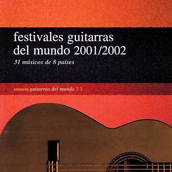 Festivales guitarras del mundo 2001/2002