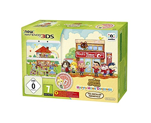 Console New Nintendo 3DS + Animal Crossing: Happy Home Designer Préinstallé [Importación...