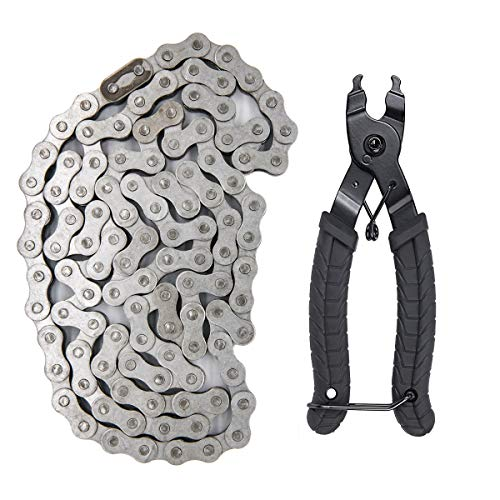 415H 110l Motorized Bicycle Chain+Chain Breaker,For 49cc 60cc 66cc 80cc 2-Stroke Engine Motor Bike Heavy Duty Chain High Power Racing Parts