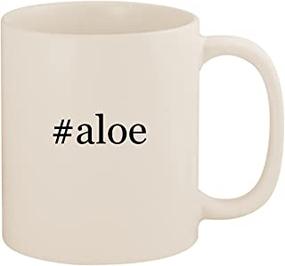 #aloe - 11oz Ceramic Coffee Mug Cup, White