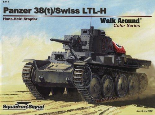 Panzer 38(t) Walk Around (Walk Around/On Deck)