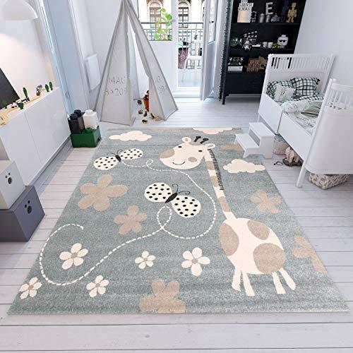 kinderteppich giraffe